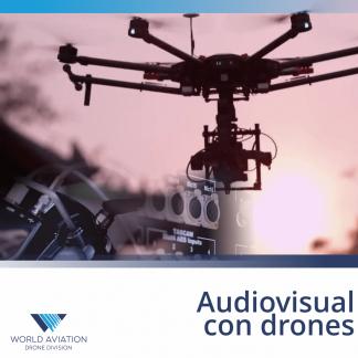 Audiovisual con drones