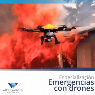 Emergencias con drones