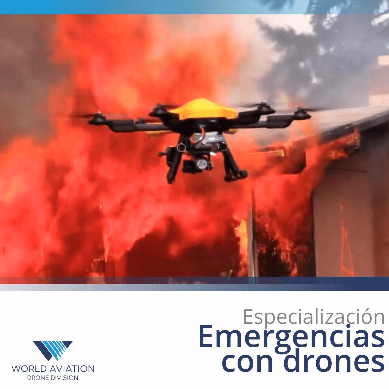 Resultado de imagen para Gestión de Drones en Seguridad y Emergencias