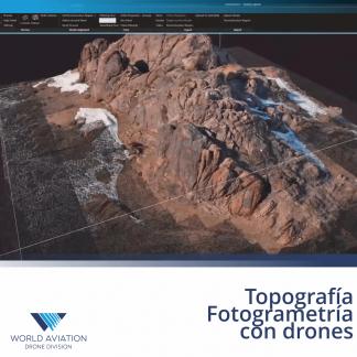 Topografía y Fotogrametría con drones