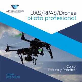 Curso Piloto Profesional de Drones/UAS/RPAS