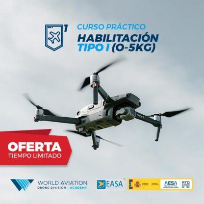 Oferta Curso Drones Práctico 0 a 5 Kg