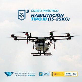 Curso Drones Práctico 15 a 25 Kg