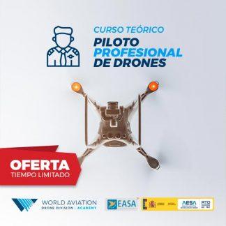 Oferta Curso Teórico Piloto Drones AESA