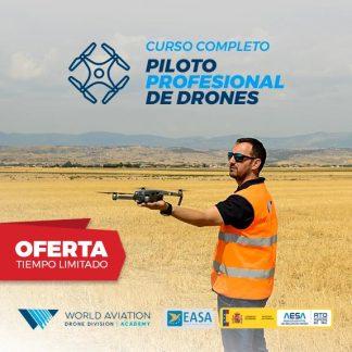 Oferta Curso Piloto Drones AESA